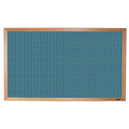 700 Series Tackboard with Wood Frame - Designer Fabric - 72