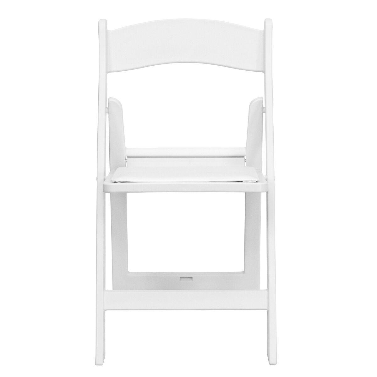 White Resin Folding Chair Le L 1 White Gg Bizchair Com