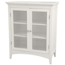 Madison Double Floor Cabinet - White