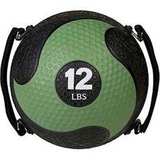 12 lbs. Rhino Ultra-Grip Medicine Ball in Green