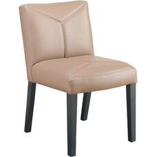 Quick Ship Leader Executive Y Stitch Designed Side Chair