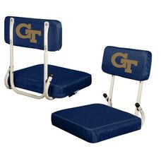 Georgia Tech Team Logo Hard Back Stadium Seat