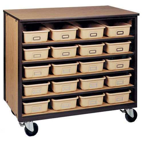 Our 5-Shelf Tote Tray Mobile Storage is on sale now.