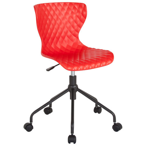 Our Brockton Contemporary Design Red Plastic Task Office Chair is on sale now.