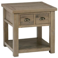 Slater Mill Reclaimed Pine End Table