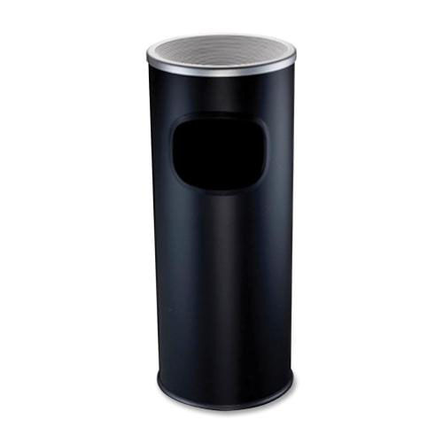 Our Genuine Joe Ashtray Receptacle - Fire -Safe - 3 Gal. - Aluminum - Black is on sale now.