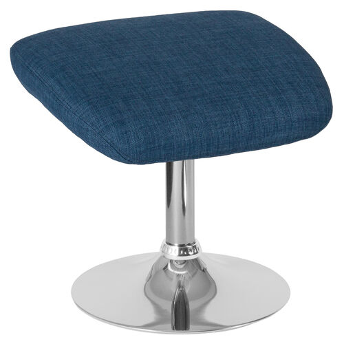 Our Egg Series Blue Fabric Ottoman is on sale now.