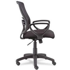 Alera® Etros Series Mesh Mid-Back Swivel/Tilt Chair - Black