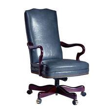 Hamilton Series Gooseneck Executive Chair without Tufts