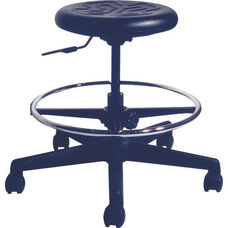 Dove Scooter Stool with 325 lb Weight Capacity - Urethane