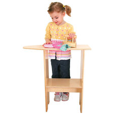 Pretend Play Healthy Kids Plywood Stationary Ironing Board - Assembled - 24
