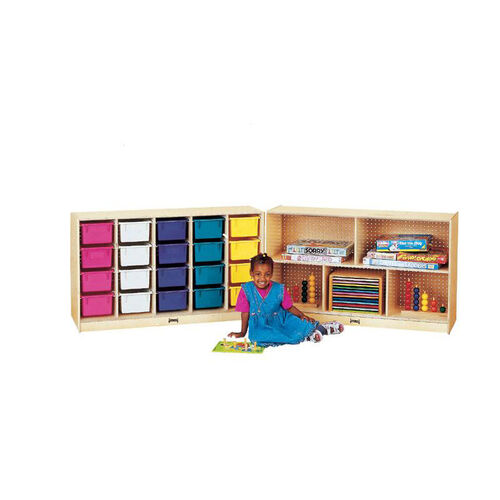 Our E-Z Glide Fold-n-Lock Storage Unit - 20 Cubbies is on sale now.