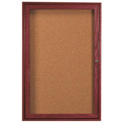 Our 1 Door Enclosed Bulletin Board - 36