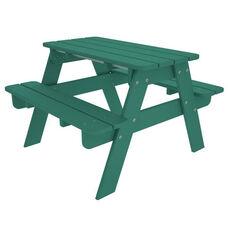 POLYWOOD® Kids Collection Picnic Table - Vibrant Aruba