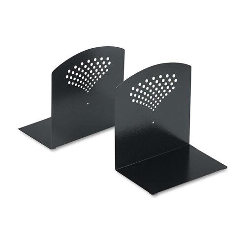 Our Safco® Bookends - Nonskid - 10 x 6 1/2 x 10 1/2 - Heavy Gauge Steel - Black is on sale now.