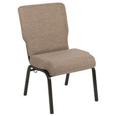 Advantage 20.5 in. Mixed Tan Molded Foam Church Chair