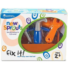 Learning Resources New Sprouts - Fix it! My Very Own Tool Set - 6 Pieces