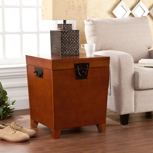 Our Pyramid Trunk End Table - Mission Oak is on sale now.
