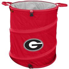 University of Georgia Team Logo Collapsible 3-in-1 Cooler Hamper Wastebasket