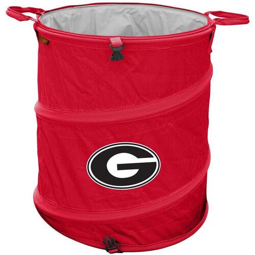 University of Georgia Team Logo Collapsible 3-in-1 Cooler Hamper Wastebasket