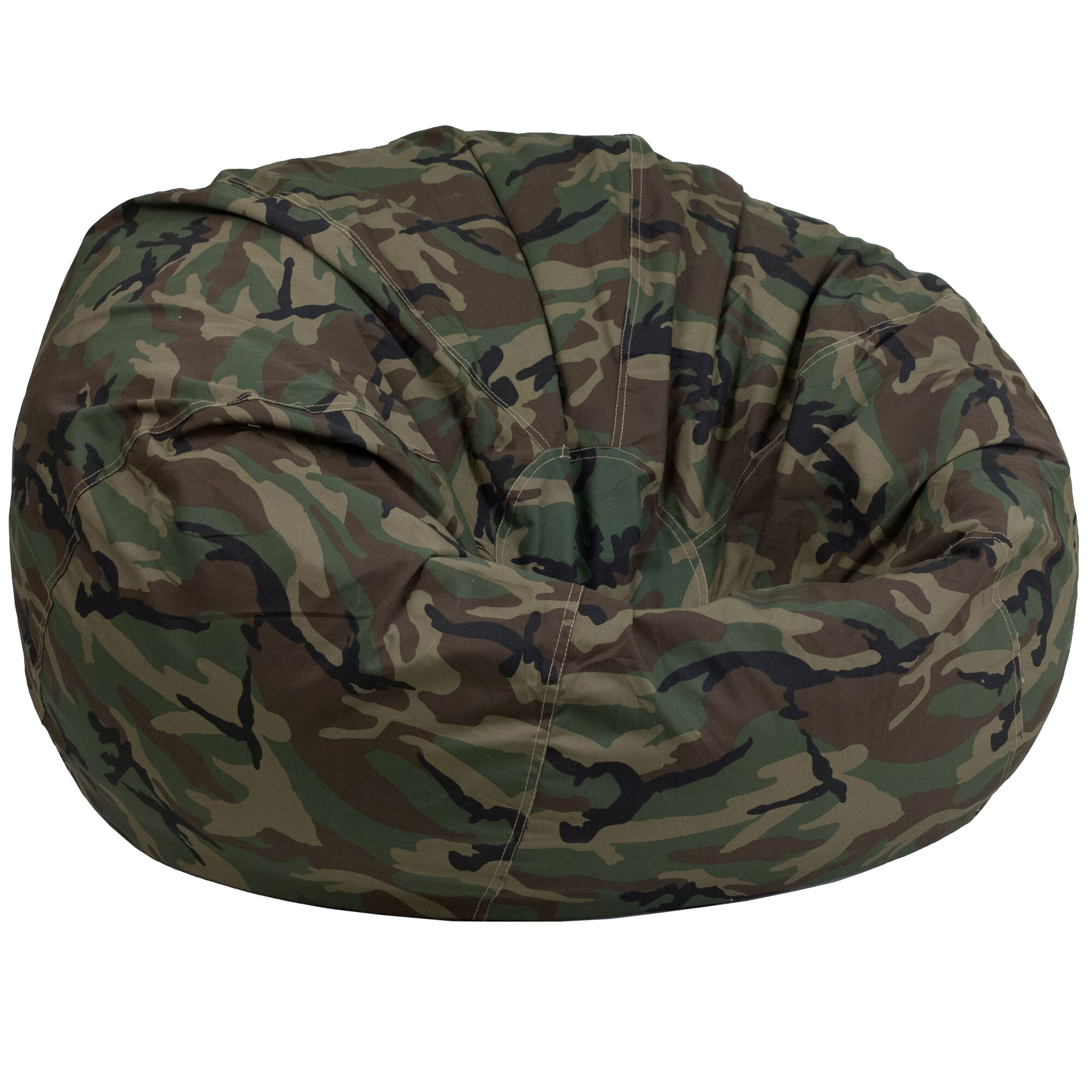 Images Our Oversized Camouflage Kids Bean Bag Chair