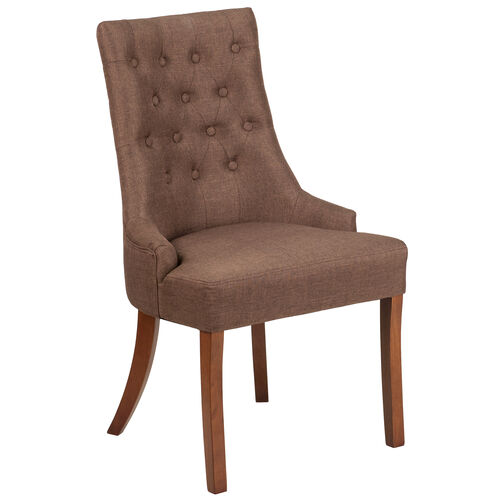 Our HERCULES Paddington Series Brown Fabric Tufted Chair is on sale now.