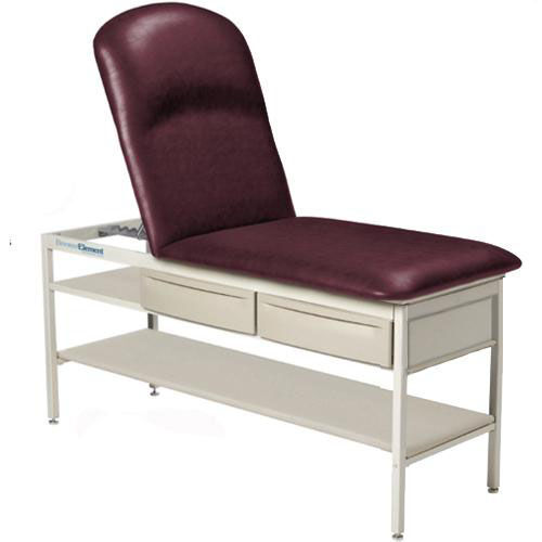 Our Adjustable Pillow Top Element Treatment Table with Shelf and Drawers is on sale now.