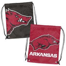 University of Arkansas Team Logo Doubleheader Drawstring Backsack