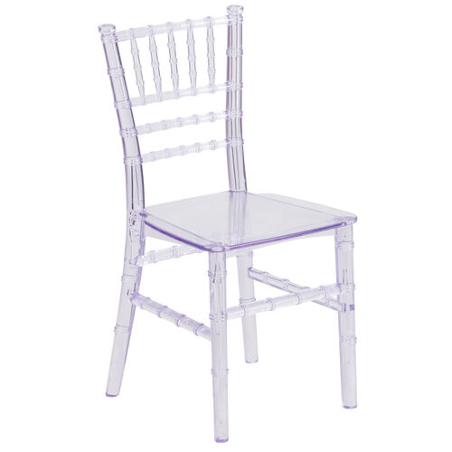 Our Kids Crystal Transparent Chiavari Chair is on sale now.