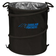 Carolina Panthers Team Logo Collapsible 3-in-1 Cooler Hamper Wastebasket