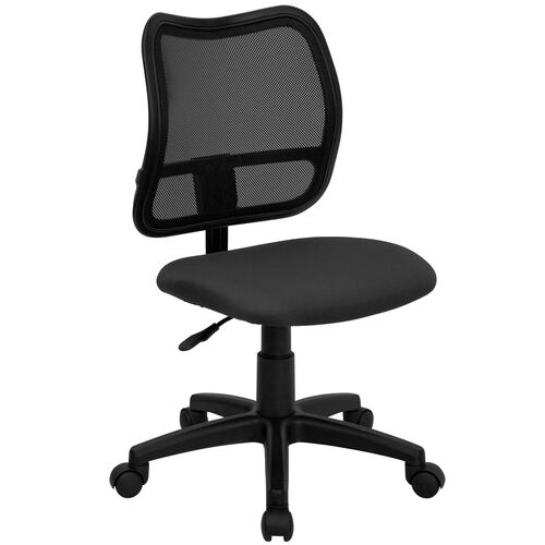 Our Mid-Back Gray Mesh Swivel Task Office Chair is on sale now.