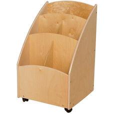 Contender Mobile Paper Bin Storage Unit - Assembled - 20