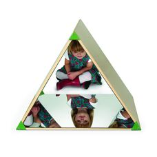 Kids Triangle Mirror Tent with Three Interior Acrylic Mirrors