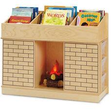 Storybook Fireplace