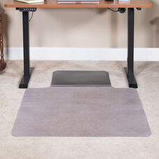 """Sit or Stand Mat Anti-Fatigue Support Combined with Floor Protection (36"""" x 53"""")"""