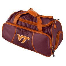 Virginia Tech Team Logo Athletic Duffel