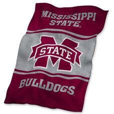 Mississippi State University Team Logo Ultra Soft Blanket