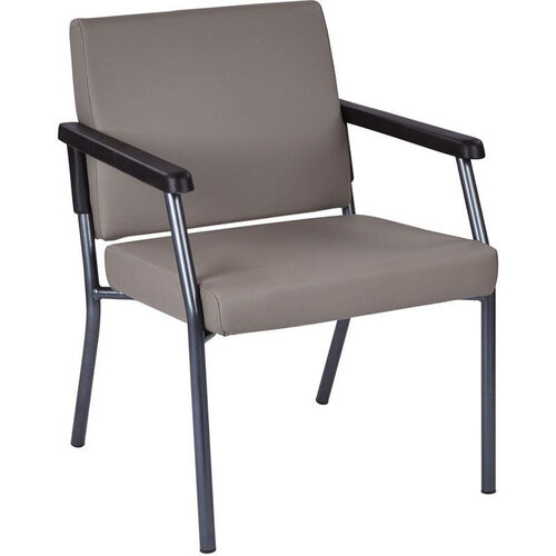 Our Work Smart Bariatric Big & Tall Guest Chair with 300 lb. Weight Capacity - Dillion Stratus Antimicrobial Vinyl is on sale now.