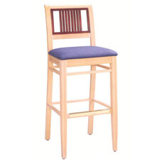 588 Bar Stool w/ Upholstered Seat - Grade 1