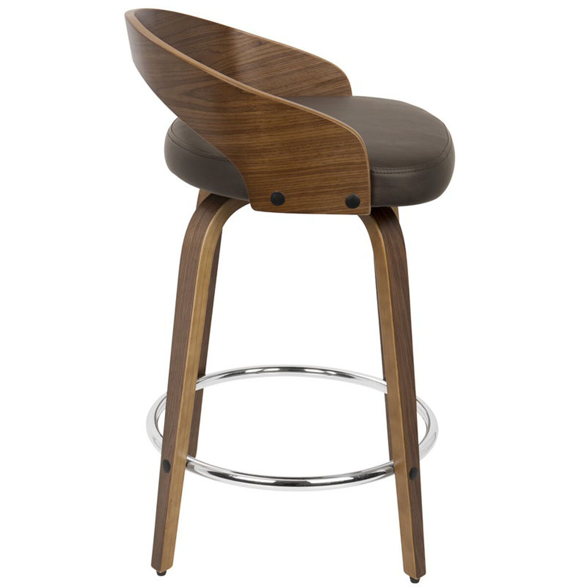 Grotto Brown Counter Stool Cs Jy Grt Wl Bn Bizchair Com