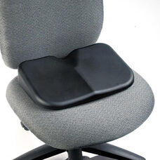 Safco® Softspot Seat Cushion - 15-1/2w x 10d x 3h - Black