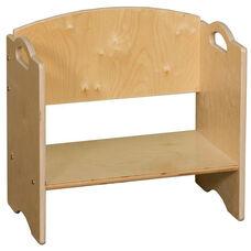 Contender Stackable Wooden Bookshelf - Assembled - 20