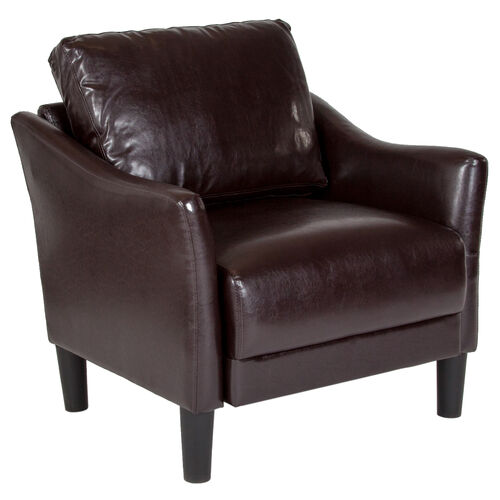 Our Asti Upholstered Chair in Brown LeatherSoft is on sale now.