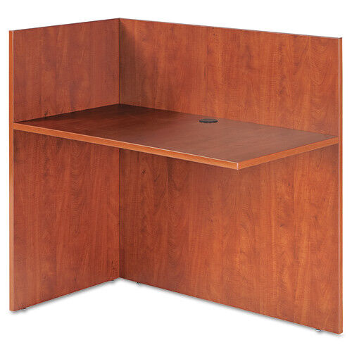 Our Alera® Valencia Reversible Reception Return - 44w x 23 5/8d x 41 1/2h - Medium Cherry is on sale now.