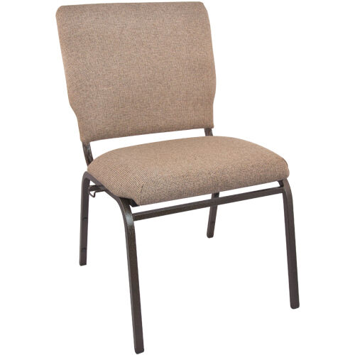 Our Advantage Mixed Tan Multipurpose Church Chairs - 18.5 in. Wide is on sale now.
