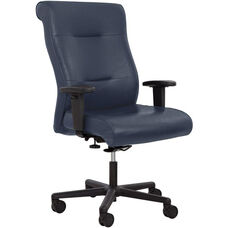 Felix 350 lbs Medium Back Heavy Duty 24/7 Intensive Use Office Chair with Extra Wide Seat