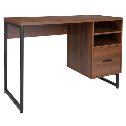 Our Lincoln Collection Computer Desk in Rustic Wood Grain Finish is on sale now.