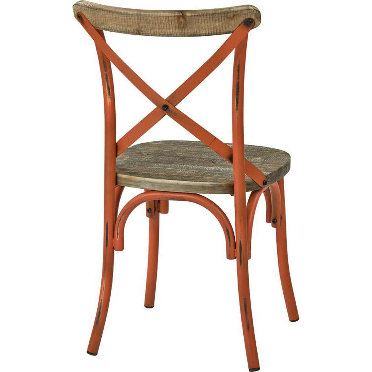 Somerset Orange Metal Chair Smr424was Aor Bizchair Com
