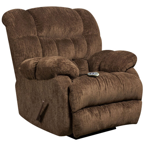 Our Massaging Columbia Mushroom Microfiber Rocker Recliner with Heat Control is on sale now.