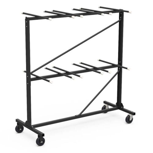 Our Quick Ship Two Tier Folding Chair Storage Rack - 30.75